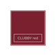 Manifix Nagelfolien Clubby red