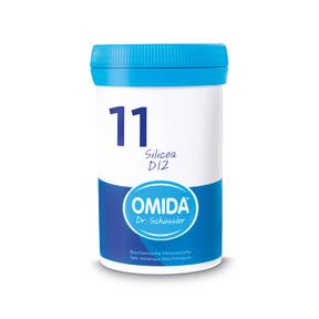 Omida Schüsslersalz Nr. 11 Silicea D12