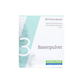 Herbamed Basenpulver III Sticks