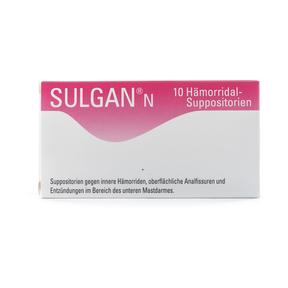 Sulgan-N Zäpfchen