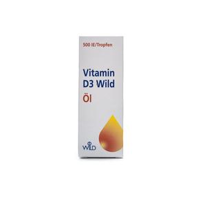 Vitamin D3 Wild Öl 500 IE