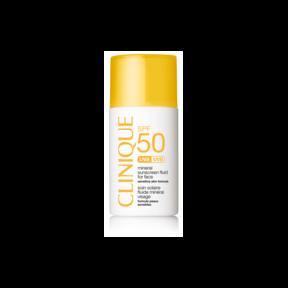 Clinque Sun Mineral Sunscreen Fluid for Face SPF 50
