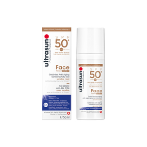 Ultrasun Face Fluid Tinted Honey LSF 50 +
