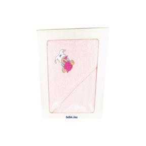 Bébé-Jou Badetuch Rosa