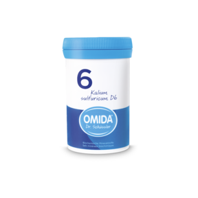 Omida Schüsslersalz  Nr. 6 Kalium sulfuricum D6