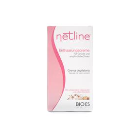 Netline Enthaarungscreme speziell für Gesicht & sensible Zonen