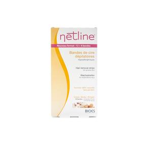 Netline Kaltwachsstreifen Körper