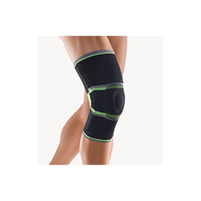 Bort StabiloGen Sport - Patella Fixationsbandage Schwarz/grün