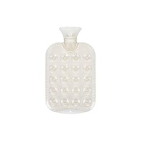 Fashy Kissen-Wärmeflasche transparent weiss