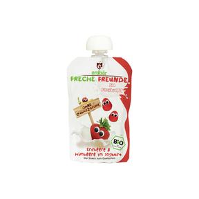 Freche Freunde Quetschmus Erdbeere & Himbeere im Joghurt