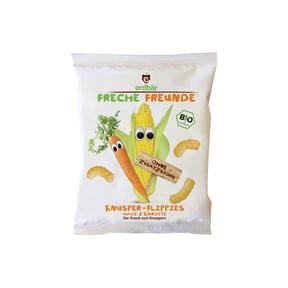 Freche Freunde Knusper-Flippies Mais & Karotte