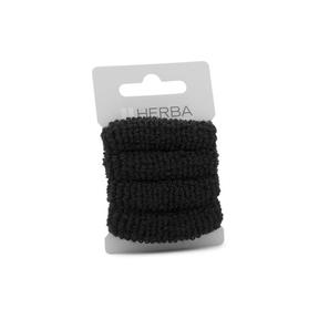 Herba Haarbinder frottée schwarz