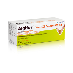 Algifor dolo forte Suspension 400mg/10 ml