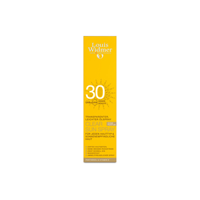 Louis Widmer Clear Sun Spray 30 unparfumiert