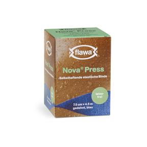 Flawa Nova Press selbsthaftende elastische Gazebinde latexfrei