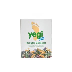 Yegi Relax Kräuter Fussbadesalz