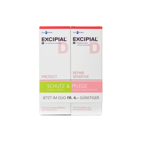 Excipial Protect Repair Creme sens Duo