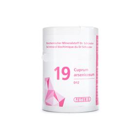 Phytomed Schüssler Nr. 19 Cuprum arsenicosum D12 Tabletten