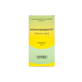 Phytomed Knospen-Mazerat Schwarzpappel D1