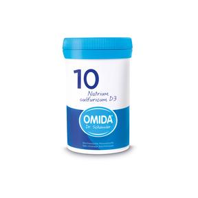 Omida Schüsslersalz Nr. 10 Natrium sulfuricum D3 Tabletten