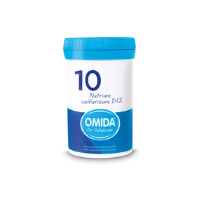 Omida Schüsslersalz Nr. 10 Natrium sulfuricum D12