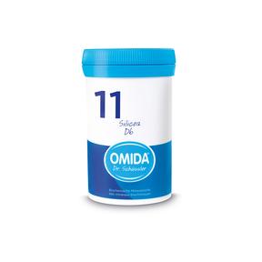 Omida Schüsslersalz Nr. 11 Silicea D6 Tabletten
