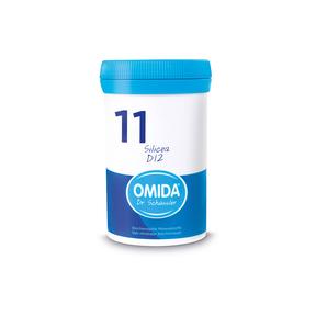 Omida Schüsslersalz Nr. 11 Silicea D12 Tabletten