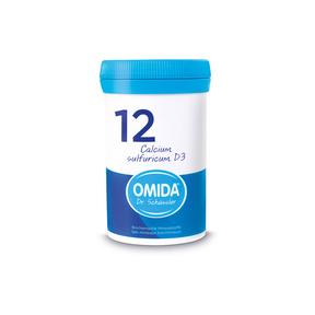 Omida Schüsslersalz Nr. 12 Calcium sulfuricum D3 Tabletten