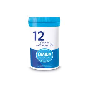 Omida Schüsslersalz Nr. 12 Calcium sulfuricum D6 Tabletten