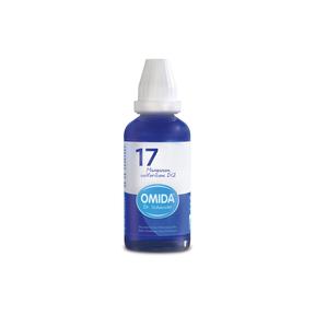 Omida Schüsslersalz Nr. 17 Manganum sulfuricum D12 Dilution