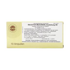 Sanum Mucokehl Racetox Injektionslösung
