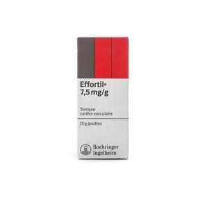 Effortil 7.5 mg/g