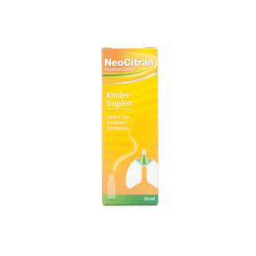 NeoCitran Hustenstiller - Tropfen für Kinder 5 mg/ml