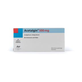 Acetalgin Tabletten
