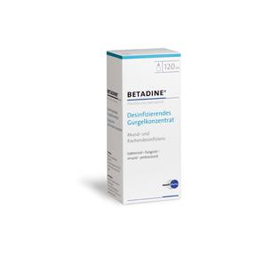 Betadine desinfizierendes Gurgelkonzentrat