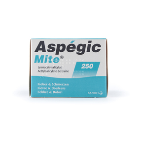 Aspégic Mite 250 mg