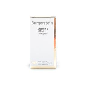 Burgerstein Vitamin E 100 I.E.