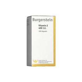 Burgerstein Vitamin E 400 I.E.
