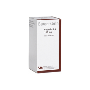 Burgerstein Vitamin B6 100 mg