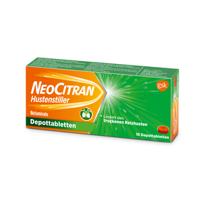 NeoCitran Hustenstiller - Depottabletten 50 mg