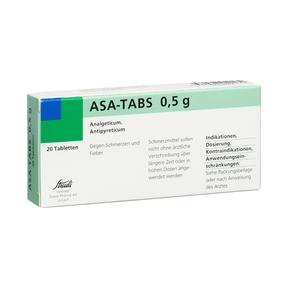ASA-Tabs 500 mg