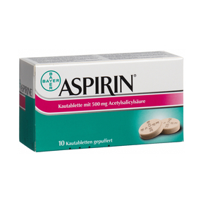 AspirinKautabletten 500 mg