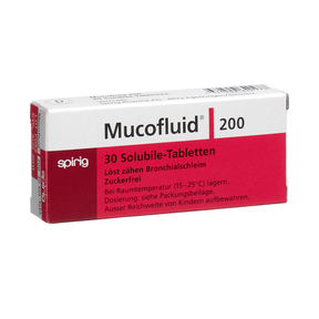 Mucofluid 200 lösliche Tabletten