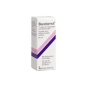 BecetamolTropfenfür Säuglinge und Kleinkinder 100 mg/ml