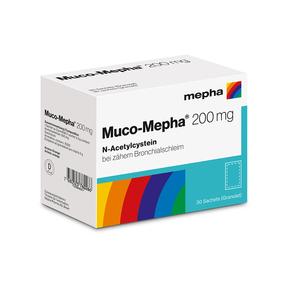 Muco-Mepha Granulat 200 mg