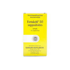 Sanum Fortakehl D3 Zäpfchen