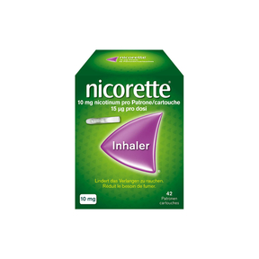 Nicorette Inhaler 10 mg