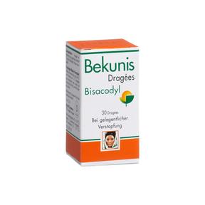 BekunisDragées Bisacodyl 5 mg