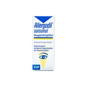 Allergodil saisonal Augentropfen