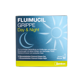 Fluimucil Grippe Day & Night